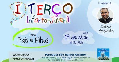 I Terço Infanto-Juvenil da Paróquia São Rafael Arcanjo